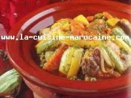 la cuisine marocaine com journée speciale recettes orientale tajine de viande aux 7