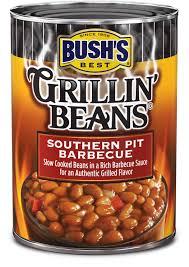 BUSHSR Southern Pit Barbecue Grillin BeansR