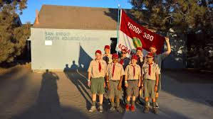 Boy Scout Christmas Tree Recycling San Diego by Camp Fiesta Island Troop 380