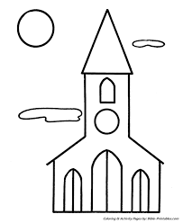 Easy Pre K Christmas Coloring Pages 9