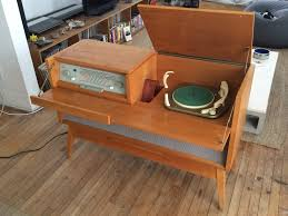 Magnavox Record Player Cabinet Astro Sonic by 1956 Braun Mm3 Stereo Console With Telefunken Tw560 Turntable