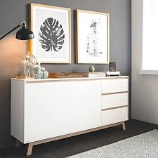 expendio sideboard anzo 9 weiß 180x85x40 cm schrank