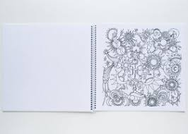 Color Your Essence Coloring Book With Spiral Binding