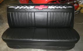 New Chevy Truck Bench / Seat Cover / Flames And Bowtie / Rick's ... Where Can I Buy A Hot Rod Style Bench Seat Ford Truck Chevy 1988 1998 Standard 2pt Aygrey Lap Bench Seat Belt Covers Split For Trucks Camo Amazon Fh Pu002 Classic Pu Leather Car Airbag Designs Of Used 2016 Silverado 1500 Custom 4x4 Sale Perry Ok 1947 1954 Airplane Black Kit Is There Source For 194754 Parts Talk Xcab Pickup Rugged Fit 731980 Chevroletgmc Cabcrew Cab Front Pickup Truck Front Cover Upholstery 47 48 49 50 51 Awesome Aftermarket Seats Pin By Gilberto Daz On C10 Interior
