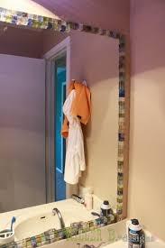 Mosaic Bathroom Mirror Diy by 198 Best 3 4 Bath Images On Pinterest Bath Bathroom And Live