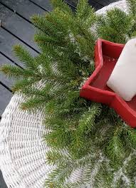 Christmas Tree Preservative Recipe by Preserved Fresh Evergreen Branches For Christmas The Peaceful Haven