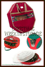 Bethlehem Lights Christmas Tree Storage Bag by Christmas Wreath Storage Containers Christmas Time Treasures