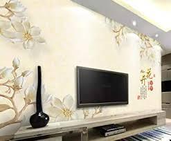 tapete fototapete 3d effekt geprägte edle magnolie moderne