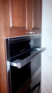 Kitchen Cabinet Filler Strips by Kitchenaid Wall Oven Filler Strip Before U0026 After Trimkits Usa