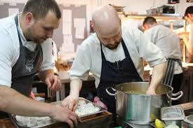 sous chef cuisine chef and sous chef busy at work picture of acklam