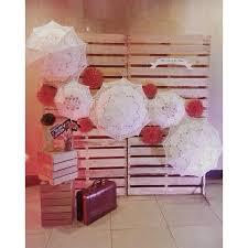 Wedding Pelamin Dais Diy Pallet Rustic