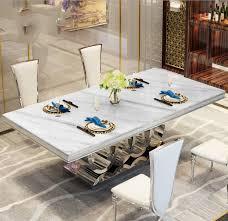 moderne stil italienischen esstisch 100 massivholz italien stil marmor top luxus esstisch 2021