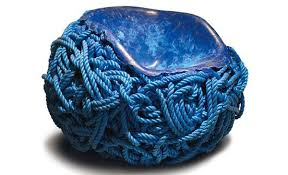 Blue Rope Meltdown Chair by Tom Price Freshome