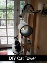 6 free diy cat tree plans diy tag diytag pinterest cat