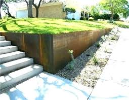 Garden Retaining Wall Ideas Inexpensive Full Image For Low