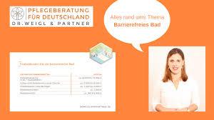 barrierefreies bad badumbau dr weigl partner
