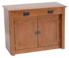 Arts & Crafts Mission Style Cabinets