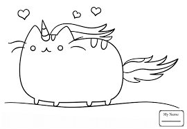 Coloring Pages For Kids Anime Manga Animals Cat Best Of