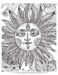 Difficult Coloring Page