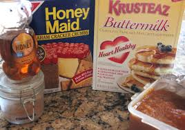 Krusteaz Pumpkin Spice Pancakes by Pumpkin Pie Pancakes Oh Bite It