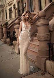 elegant sheath wedding dresses 2017 berta bridal sleeveless