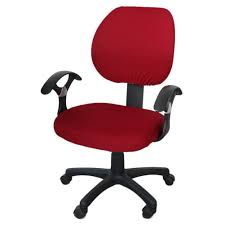 Brand New Office Separated Chair Cover Swivel Chair Computer Armchair  Protector Executive Task Slipcover Internet Bar Back Seat Cover - Intl Leather Office Chair Cover Beandsonsco View Photos Of Executive Office Chair Slipcovers Showing 15 Melaluxe Cover Universal Stretch Desk Computer Size L Saan Bibili Help Gloves Shihualinetm Cloth Pads Removable Gallery 12 20 Size Washable Arm Slipcover Rotating Lift Covers Chairs Without Arms Ikea Ding Room Slipcover Eleoption Seat High Back Large For Swivel Boss Lms C Best With Lumbar Support Small