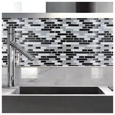 Smart Tiles Peel And Stick by Peel And Stick Glass Tile Backsplash Apaan On Best Loversiq