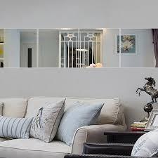großhandel 9 teile satz spiegel wandaufkleber für dekoration kreismuster diy wandaufkleber dekor schlafzimmer wohnzimmer wandbild aufkleber jk0116