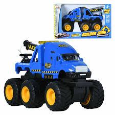 100 Blue Trucks Maisto Tow Truck Builder Zone Monsters Display Miniature Car EBay