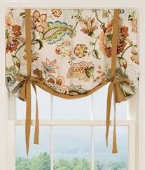 Jacobean Floral Design Curtains by Best 25 Tie Up Curtains Ideas On Pinterest Tie Up Shades Diy