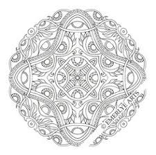 Difficult Level Mandala Coloring Pages