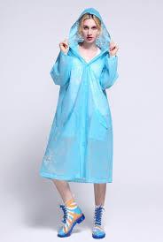 fashion lace raincoat women u0027s outdoor travel eva transparent