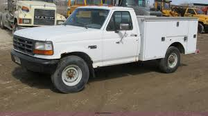 100 Ford F350 Utility Truck 1992 Utility Truck Item G8800 SOLD April 24 C