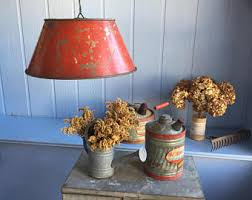 Punched Tin Lamp Shades Canada by Metal Lamp Shade Etsy