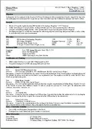 Single Page Resume Template Best One Download 1 Throughout