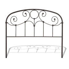 Decorative Metal Banding For Furniture by Amazon Com Grafton Complete Bed With Metal Scrollwork Panels And