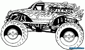 Coloring Pages Monster Truck | Coloring Pages For Kids Stunning Idea Monster Truck Coloring Pages Spiderman Repair Police Truck Coloring Pages Trucks Of Fresh Color Best Free Maxd Page Printable Coloring Page How To Draw A 68861 Blaze Unique Top Image Monstertruck Bargain Sheets 2655 Max D For Kids Transportation Jam Page For Kids