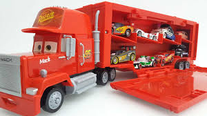 Disney Pixar Mack Truck Hauler Carry Case Disney Pixar Cars And Mack ...