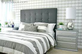 White Velvet King Headboard by White Cloth Headboard U2013 Senalka Com