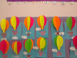 Air Transport Crafts For Preschool Kids And Worksheets On Hot Balloon Craft Preschoolers