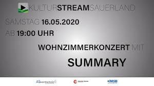 wohnzimmerkonzert mit summary live kulturstreamsauerland