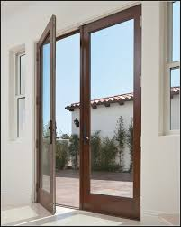Milgard Patio Doors Home Depot by Hinged Patio Doors With Built In Blinds Patios Home Decorating