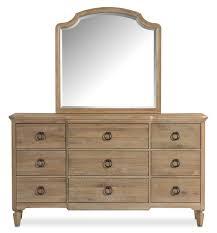 Regents Park Dresser and Mirror Oak