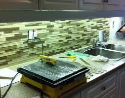 Glass Tiles For Backsplash by Coolest Lime Green Glass Tile Backsplash My Home Design Journey