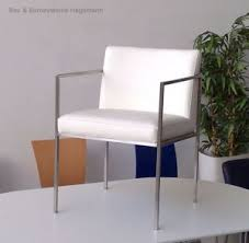 möbelimperium weisser lederstuhl loungestuhl stuhl