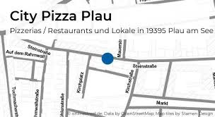 city pizza plau steinstraße in plau am see plau pizzerias