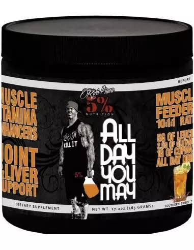Rich Piana 5% Nutrition All Day You May - 30 Servings