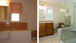 Small Bathroom Pictures Before And After by Bathroom Design Gallery Before U0026 After Remodeling Photos