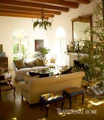 Christmas In A Spanish Mission Style Home