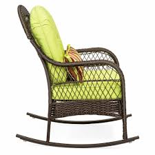 Outdoor Wicker Rocking Chair W/ Cushion Pillow Porch Deck Patio ... 63 Wonderful Gallery Ipirations Of 3 Piece Rocker Patio Set Polywood Rocking Chairs Perfect Inspiration About Chair Design K147fblwl In By Furnishings Batesville Ar Black Outdoor Wood Rockers Child Size The Complete Guide To Buying A Polywood Blog Jefferson Woven Outsunny Wooden Party For Sale Pwrockerset3 Recycled Plastic By Company Official Store